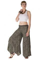 Pantalon large fluide avec des motifs ethnique Christa 288554