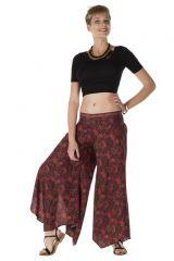 Pantalon large fluide avec des motifs ethnique Dottie 288548