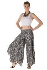 Pantalon large fluide avec des motifs ethnique moucheté Marni 288552
