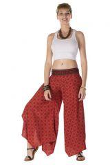 Pantalon large fluide avec des motifs ethnique originaux Pixie 288550