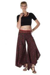 Pantalon large fluide avec des motifs ethnique Paige 288556