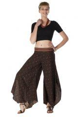 Pantalon large original avec des motifs ethnique Arianna 288537