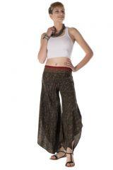 Pantalon large original avec des motifs ethnique Chelsy 288539