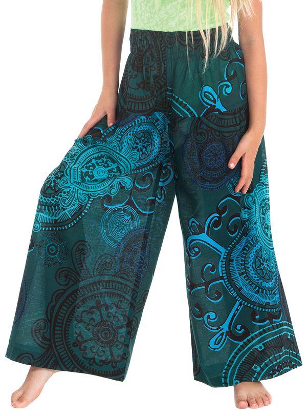 Pantalon Large pour enfant Coloré et Fantaisie Buck Bleu 279935