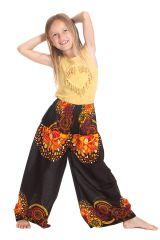 Pantalon Large pour enfant Coloré et Fantaisie Buck Noir 279929