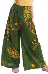 Pantalon Large pour enfant Vert Coloré et Fantaisie Buck 279931