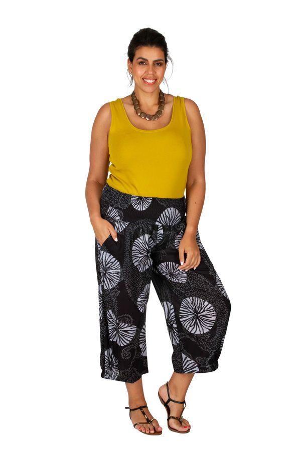 Pantalon léger à ceinture élastiquée femme grande taille Louis 308078