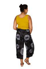 Pantalon léger à ceinture élastiquée femme grande taille Louis 308079