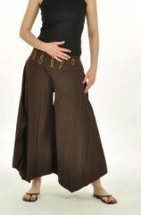Pantalon léonie marron 240351