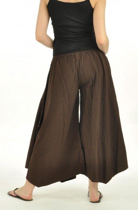 Pantalon léonie marron 251796