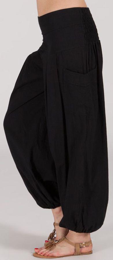Pantalon Noir Femme pour Détente ou Yoga Audric 282317