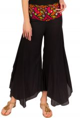 Pantalon original avec une ceinture brodées d'imprimés Arastou 293091
