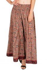 Pantalon original et coloré avec un imprimé aztèque tendance Milina