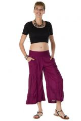 pantalon original large court 3/4 fuchsia Wexford 288755