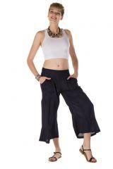 pantalon original large court 3/4 prune Galway 288723