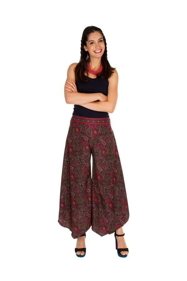 Pantalon patte d'éléphant mode tendance boho-chic Ellie 309727