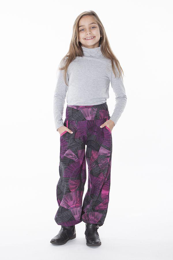 Pantalon pour Enfant Imprimé d'éventails Colorés Tanmay 286168