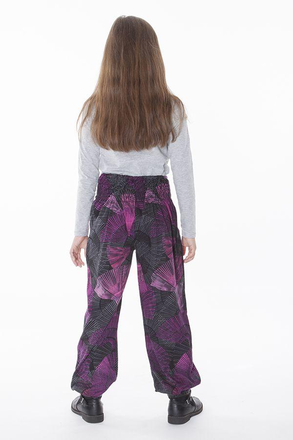 Pantalon pour Enfant Imprimé d'éventails Colorés Tanmay 286169