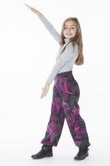 Pantalon pour Enfant Imprimé d'éventails Colorés Tanmay 286170