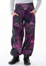 Pantalon pour Enfant Imprimé d'éventails Colorés Tanmay 287717