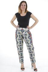 Pantalon pour femme à la taille élastiquée et agréable Pedro 310394