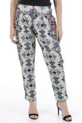 Pantalon pour femme à la taille élastiquée et agréable Pedro 310395