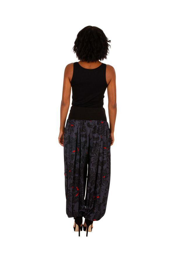 Pantalon pour femme avec un imprimé ethnique original Liwou