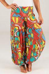 Pantalon pour femme Bouffant Extra large et Ethnique Arnold 287063