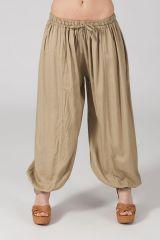 Pantalon pour femme bouffant Sable Ethnique et Original Gilian 282919