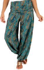 Pantalon pour femme d'été Ample et Agréable Yamaké Vert 283525