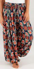 Pantalon pour Femme d'été Ethnique et Original Renaud 276769