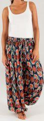 Pantalon pour Femme d'été Ethnique et Original Renaud 276770