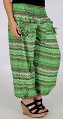 Pantalon pour Femme d'été Large et Confortable Balzac Vert 277737