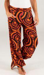 Pantalon pour femme effet Bouffant Ethnique et Original Paulin 287048