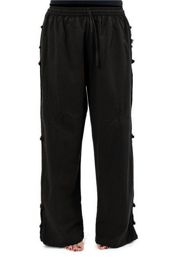 Pantalon pour femme et homme style japonais de couleur noir Azuka 303954