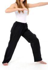 Pantalon pour femme et homme style japonais de couleur noir Azuka 303955