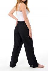 Pantalon pour femme et homme style japonais de couleur noir Azuka 303956