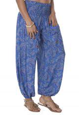 Pantalon pour Femme Ethnique et Fluide à smock Anandam 283948