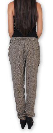Pantalon pour Femme Ethnique et Original Hally Marron 276495