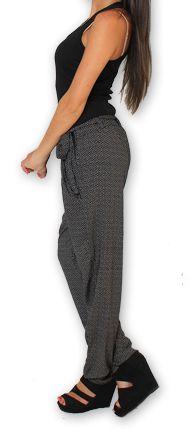 Pantalon pour Femme Ethnique et Original Hally Noir 276490