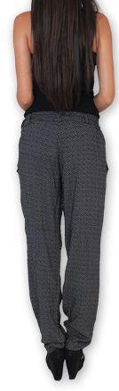 Pantalon pour Femme Ethnique et Original Hally Noir 276491