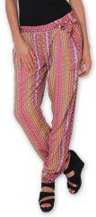 Pantalon pour Femme Ethnique et Original Hally Rose 276500