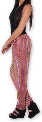 Pantalon pour Femme Ethnique et Original Hally Rose 276502