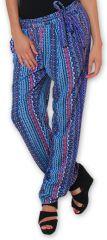 Pantalon pour Femme Ethnique et Original Hally Violet 276512