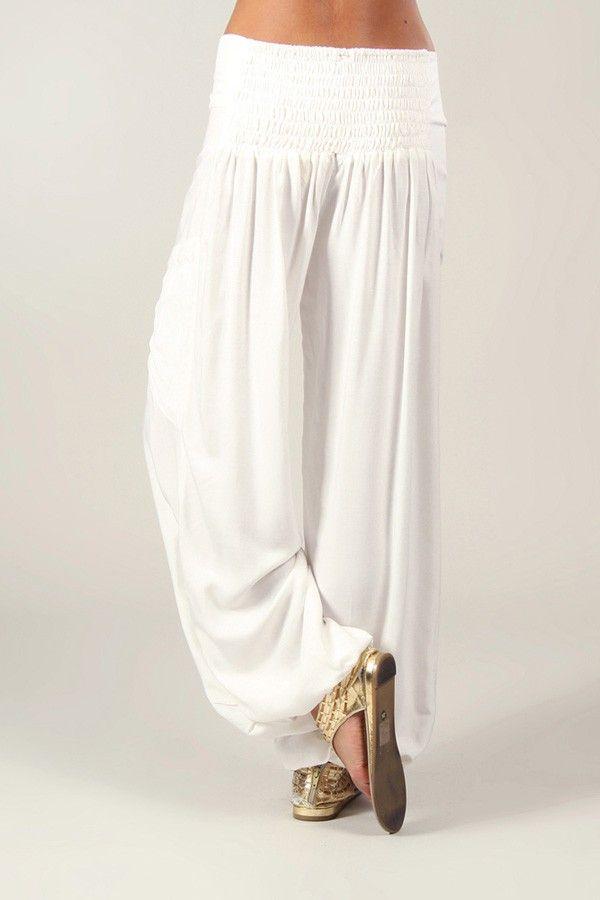 Pantalon pour Femme Fluide et Agréable Cédric Blanc 318541