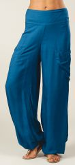 Pantalon pour Femme Fluide et Agréable Cédric Pétrole 282311
