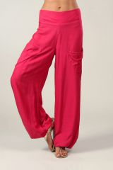 Pantalon pour femme fluide et agréable Cédric rose foncé 318552