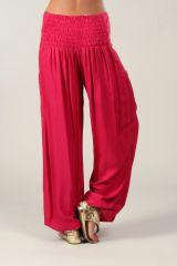 Pantalon pour femme fluide et agréable Cédric rose foncé 318553