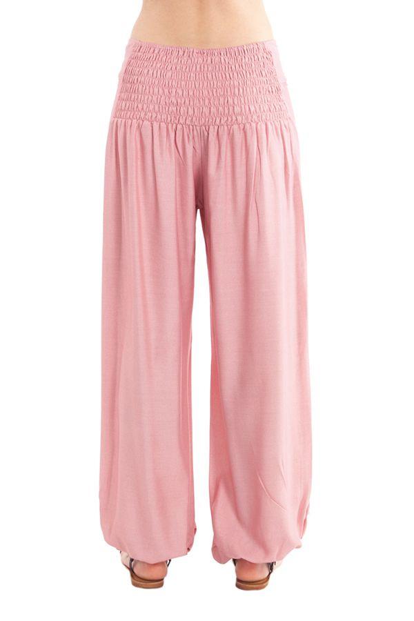 Pantalon pour Femme Fluide et Agréable Cédric Vieux Rose 282250