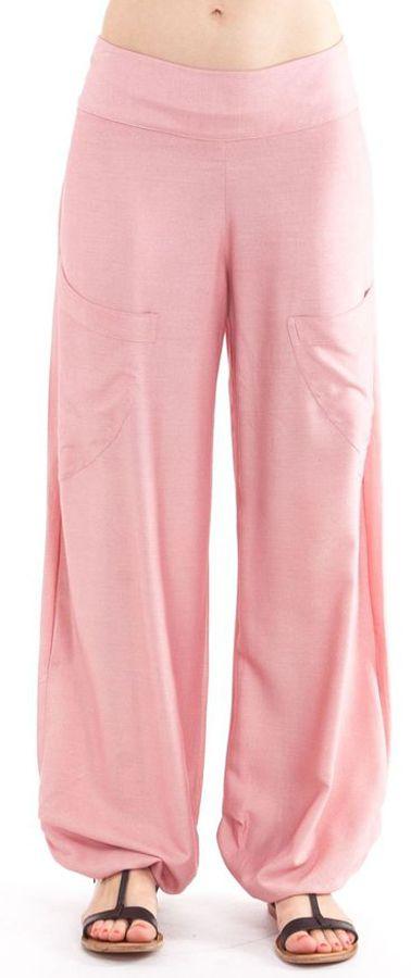 Pantalon pour Femme Fluide et Agréable Cédric Vieux Rose 282308